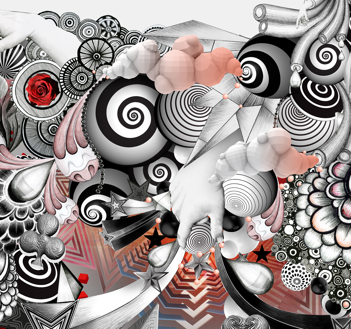 Created using: Photograhy // Pen & Ink // Pencil //3D modles // Vector drawings